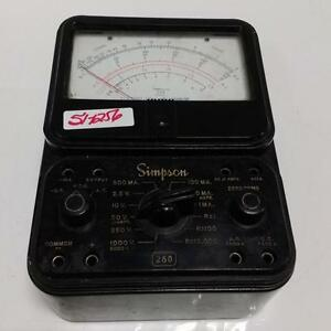 Simpson 260 Overload Protected Analog Multimeter Series 5 kjs