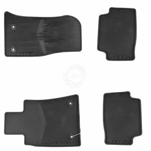 Oem All Weather Black Rubber Floor Mats Front Rear Kit Set Of 4 For Ats New