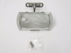 1935 1936 Ford Stainless Steel Cabriolet Convertible Sedan Rear View Mirror
