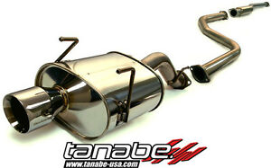 Tanabe Medalion Touring Exhaust System For Honda Civic Hatchback 1996 2000