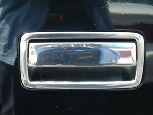1995 2004 Chevrolet S 10 Stainless Steel Chrome Tailgate Handle Cover