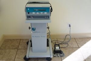 Ultracision G110 Harmonic Scalpel With Footswitch Rolling Cart