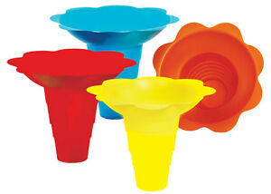 Flower Sno cone Drip Tray Cups 12 Ounce 100 Total 6504