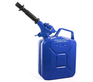 New Wavian 5 Liter Nato Military Steel Jerry Can Blue 3028