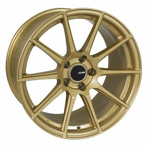 4 Enkei Ts 10 Wheels 17x8 5x100 45 Gold Rims