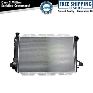 Radiator Assembly Aluminum Core Direct Fit For Ford Pickup Truck 5 0l 5 8l 7 5l