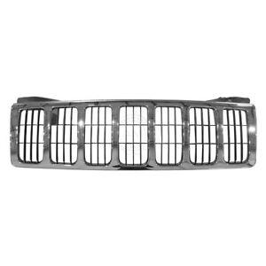 Oem 82209206 Grille Front Chrome Finish For Jeep Grand Cherokee Mopar Brand New