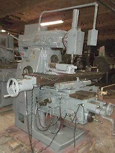 Cincinnati Cinova 307 14 Universal Milling Machine With Vertical Overarm