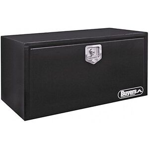 Buyers Black Steel 14 X 12 X 24 Underbody Toolbox 1703350