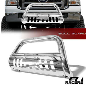 For 05 07 Ford F250 f350 Sd Chrome Stainless Bull Bar Bumper Grill Grille Guard