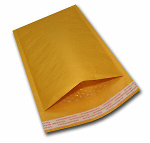 200 2 8 5x12 Kraft Bubble Mailers Mailing Padded Envelopes Bags Knj 8 5 x12