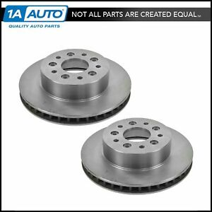 Front Brake Rotor Driver Passenger Side Kit Pair Set Of 2 For Chevy Corvette