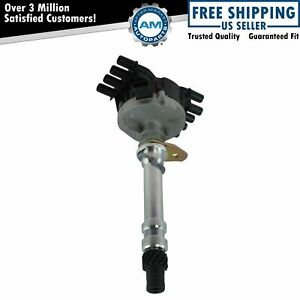 Billet Ignition Distributor For Gmc Cadillac Chevy Pickup Suv Van Vortec 5 7 5 0