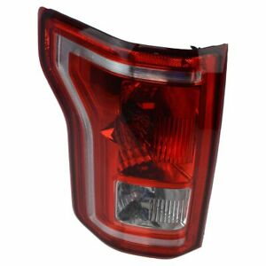 Oem Conventional Bulb Tail Light Lamp Driver Side Left Lh For F150 Pickup Truck