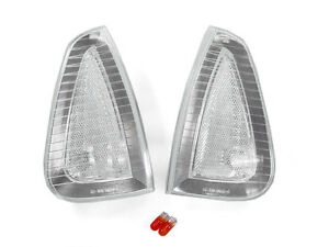 Depo Front Chrome Clear Corner Lights Pair For 2006 2010 Dodge Charger R t Srt8