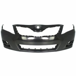 Front Bumper Cover For 2010 2011 Toyota Camry Le Xle Usa Built Primed Plastic
