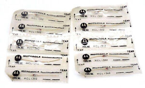 Lot Of 10 New Motorola Mcl1302 Gold Lead Diodes