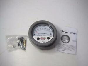 9954 Dwyer Magnehelic Differential Pressure Gauge Gage Free Shipping Conti Usa