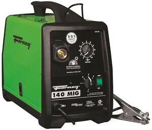 New Forney 309 120 Volt 30 140 Amp Heavy Duty Electric Mig Welder Kit 8909392