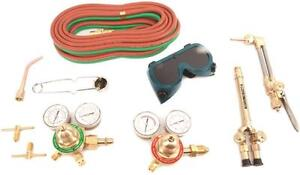 New Forney 1705 Victor Oxy Acetylene Medium Duty Welding Kit Set 8909442