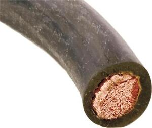 New Forney 52102 50 Foot 1 0 Gauge Heavy Flexible Welding Cable 600 V 8914327