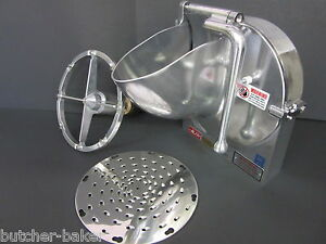 Pelican Shredder Grater For Hobart Xlarge Floor Mixer 22 W 3 16 Cheese Disc