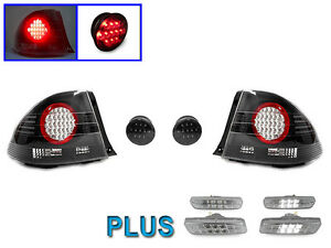Depo Altezza Style Led Tail White Led Side Markers For 2001 2005 Lexus Is300 4d