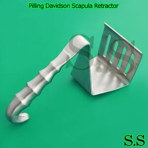 Pilling Davidson Scapula Retractor 3 5 Stainless Steel Surgical Instruments