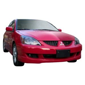 For Mitsubishi Lancer 04 07 Front Bumper Lip Under Air Dam Spoiler Rally Style