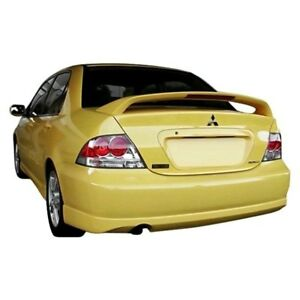 For Mitsubishi Lancer 04 07 Rear Bumper Lip Under Air Dam Spoiler Rally Style