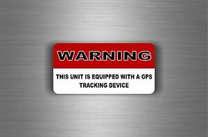 Sticker Gps Alarm System Warning Decal Anti Theft Car Vehicle Security Vinyl