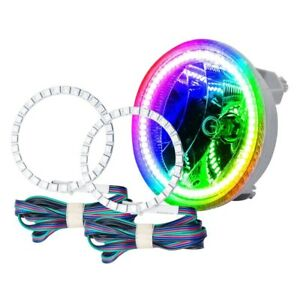For Chevy Camaro 10 13 Oracle Lighting Smd Colorshift Halo Kit For Fog Lights