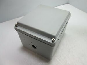 Hoffman A865jfgr Enclosure Dimensions 8 X 6 5 X 6 holes missing Screw