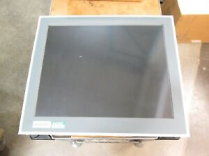 Beckhoff Cp6203 0001 0020 Industrial Computer W 19 Touch Screen Monitor 24vdc