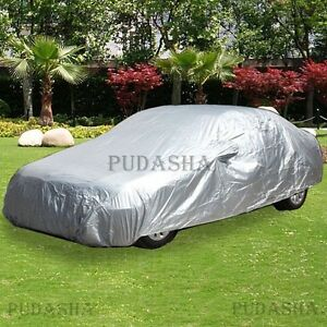 Outdoor Indoor Universal Full Car Cover Water Resistant Uv Protection Pcs3p