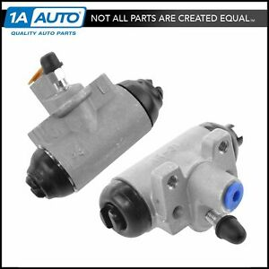 Wheel Cylinder Driver Passenger Side Rear Pair For Honda Civic Accord New