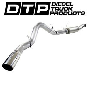Afe 5 Cat back Exhaust Dpf Delete Chevy Gmc Duramax Diesel 11 15 Stainless