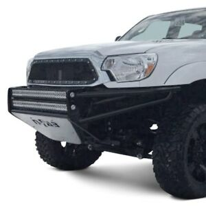 For Toyota Tacoma 05 15 Bumper Rsp Full Width Black Front Pre Runner Bumper W
