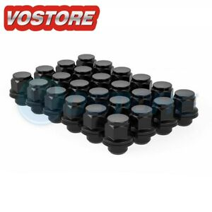 24 12x1 5 Wheel Lug Nuts Mag Seat W Washer For Toyota Sequoia Sienna Tacoma