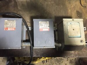 Square D Single Phase Transformers