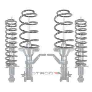 Stagg 4 Struts Shocks Lowering Springs Honda Civic 2001 2002 01 02 6a60307