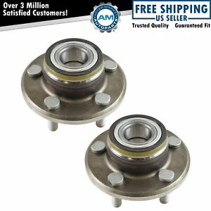 Front Wheel Hub Bearing Pair For Challenger Charger Magnum 300c Rwd 2wd
