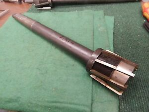 Adjustable Blade Shell Reamer 2 3125 Diameter 4 Morse Taper