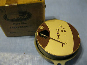 Nos 1941 47 Ford Commercial Truck And Coe Ammeter Gauge