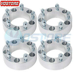4 2 Wheel Spacers 5x5 5 Fits Ford F 150 E 150 Bronco Jeep Cj3 Dodge Ram 1500