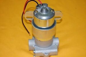 High Performance Electric Fuel Pump 140 Gph 14psi High Volume Transfer 9 Psi