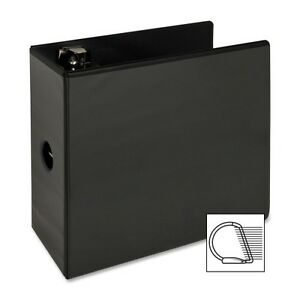 lot Of 6 5 Inch Black D Ring View Binders New