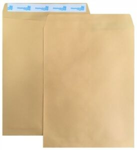 500 Shippingmailers 9 X 12 Kraft Catalog Envelopes w Self Adhesive Flap