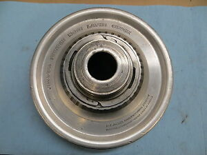 Used Jacobs Spindle Nose Lathe Chuck Model 91 a6 Serial g2520 381