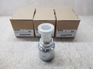 Parker 11571 20 24 Hydraulic Fitting lot Of 3 New